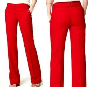 Loft Red Sailor Pants